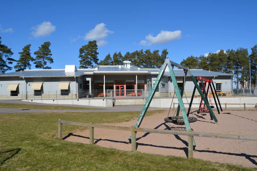 Bilden visar Arentorp förskola.