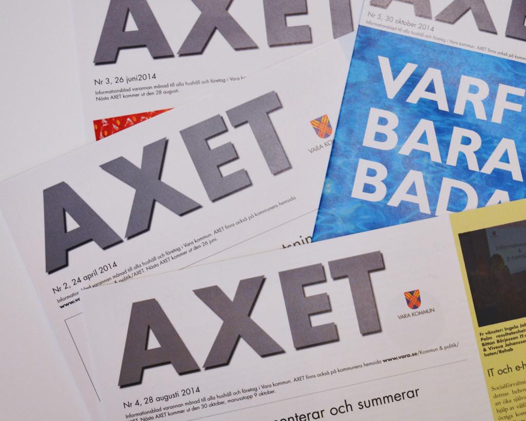 Bild av flera exemplar av Axet