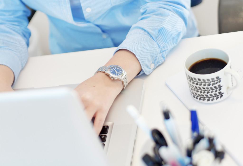Arbete vid dator