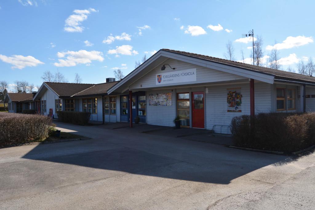 Bilden visar Varas östra förskola.