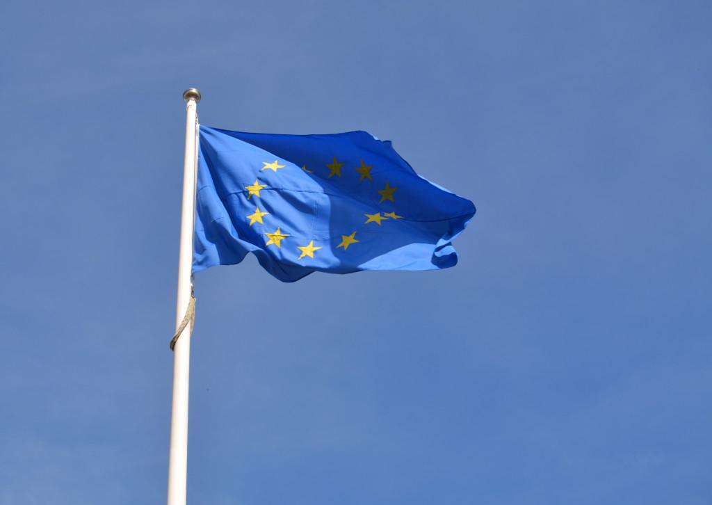 EU-plaggan. Fotografi