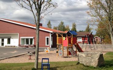 Bilden visar Kvänums förskola.