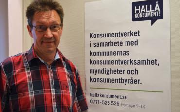 Konsumentsekreterare i Vara kommun, Egon Frid