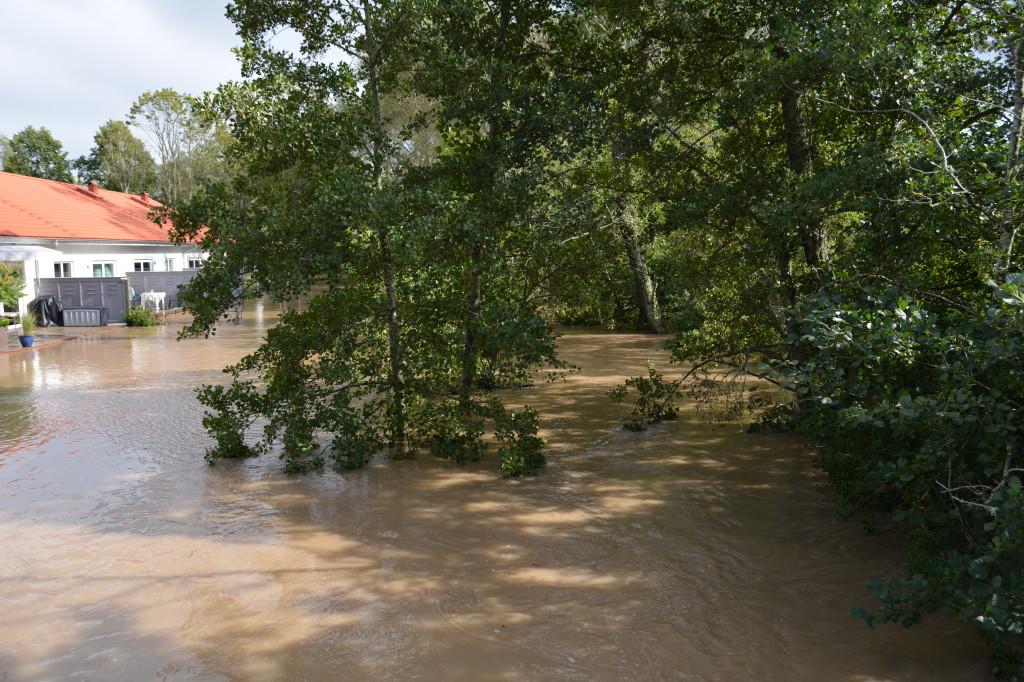 Översvämning Kvänum 2014