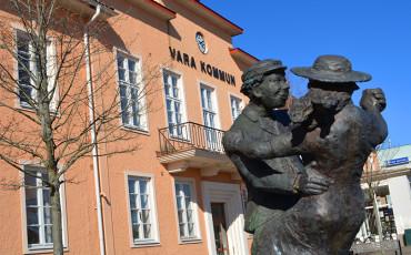 Bild på Vara kommunhus