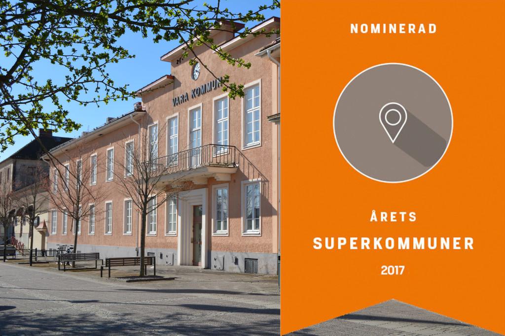 Nominerad till Årets Superkommun