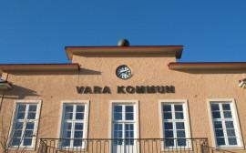 Kommunhuset i Vara.