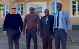 Mr. Henry Coetzee, Mr. Usia Akwaanyenga, Mr. Matheus Kambunga och Mr. Nestor Sheimi.