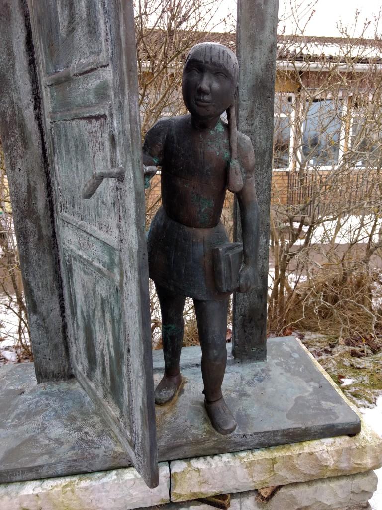 Flickan i dörren