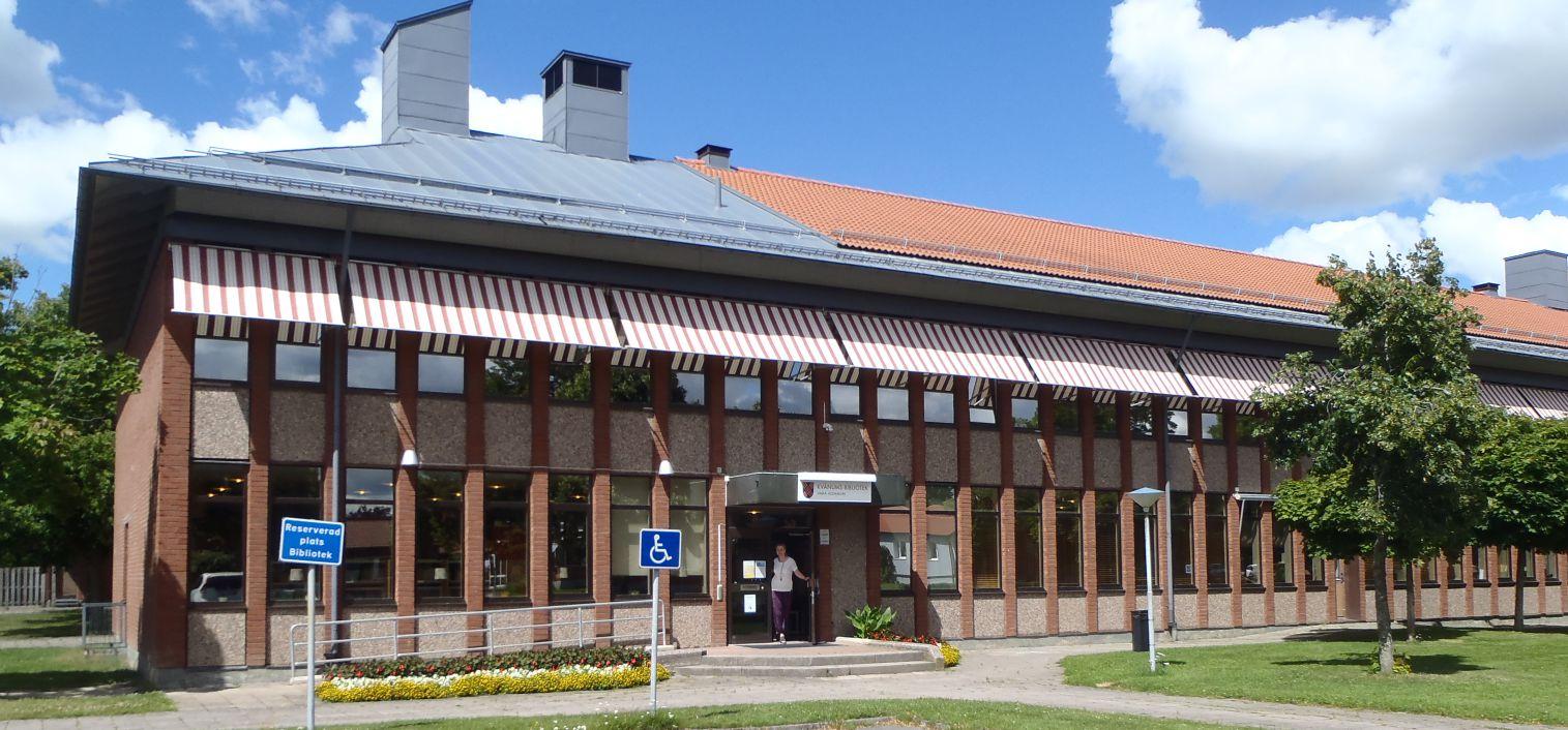 kvänums bibliotek