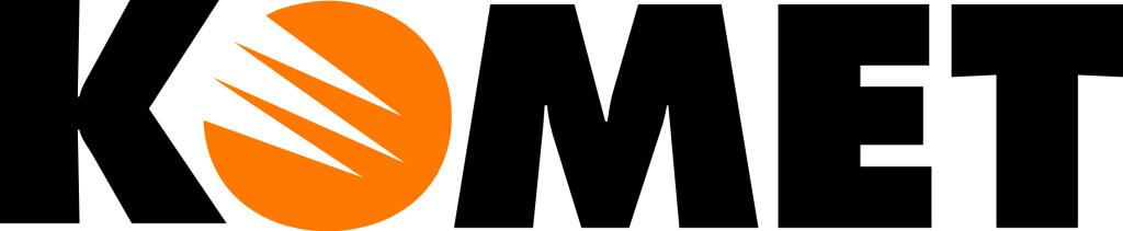 Bild på logotyp med texten komet