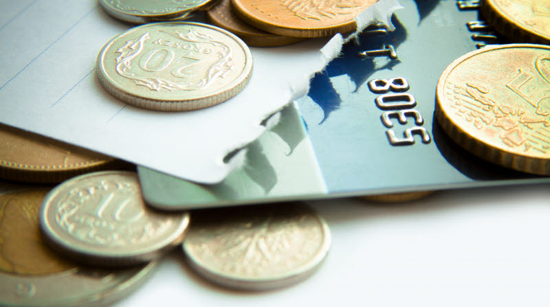 Mynt och bankomatkort