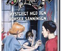 Bild på bokomslaget Mysteriet med den hemska sanningen av Torsten Bengtsson. Bokförlaget Hegas.