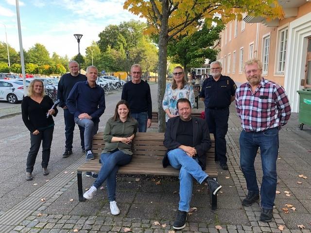 Bild på medlemmarna i brottsförebygganderådet