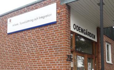 Husfasad Odengården.