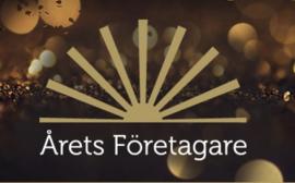Bilden föreställer logotypen för Årets Företagare.