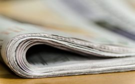 En vikt tidning