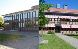 Bild på Alléskolan och Nästegårdsskolan