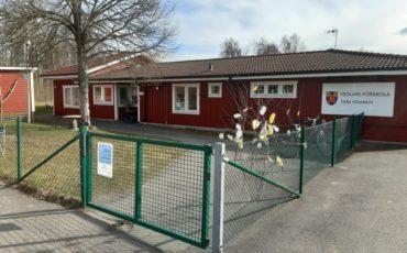 Bilden visar Vedums förskola.