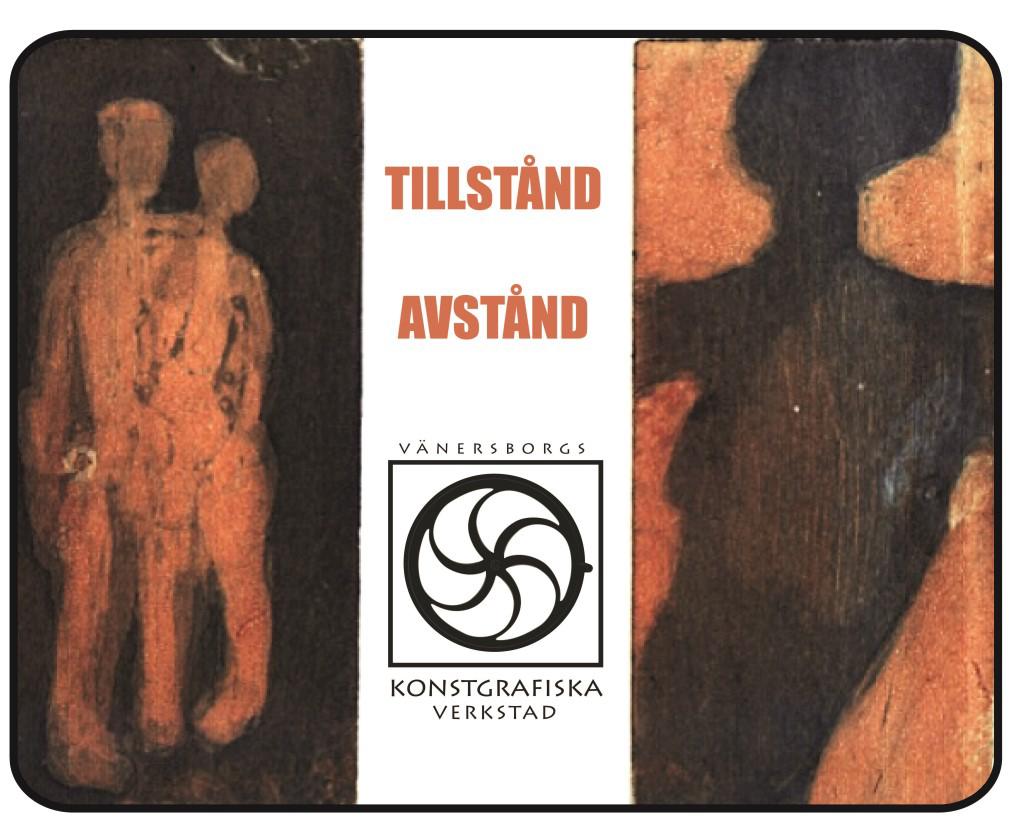 Konstrgrafiska tryck från utställningen Tillstånd Avstånd