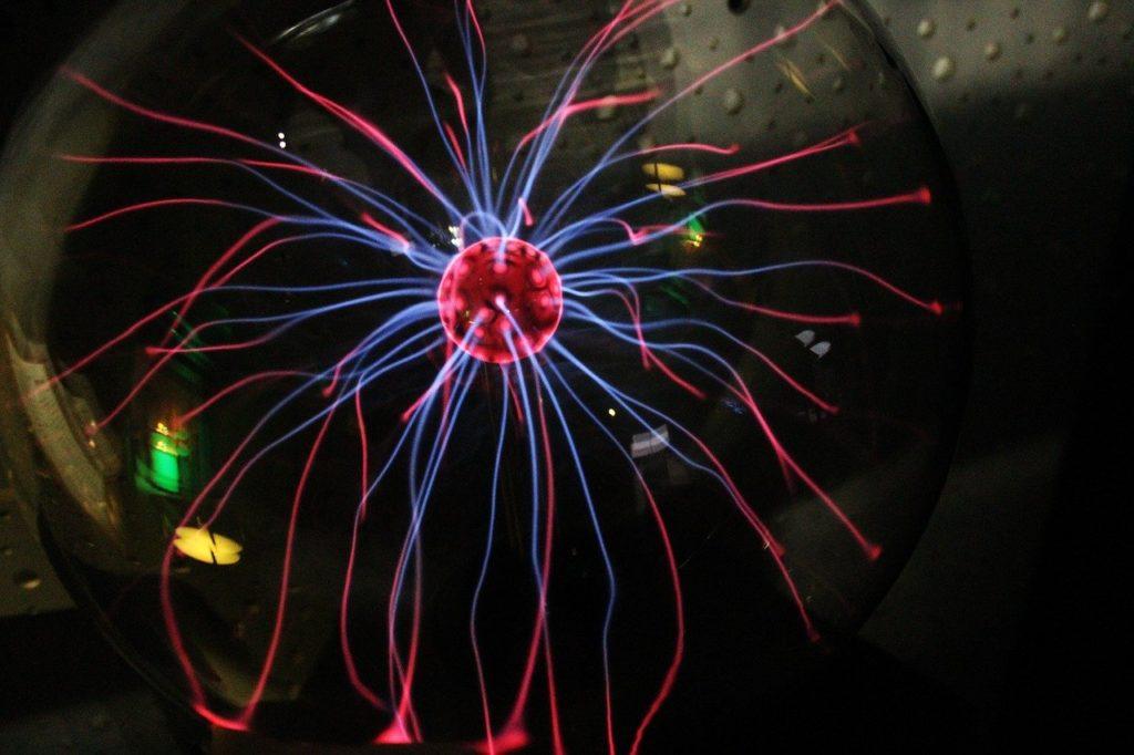 Bilden visar ett magnetiskt fält