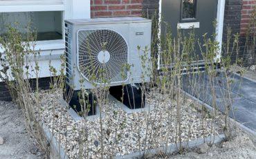 Bilden visar en värmepump